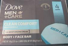 Dove Men Care Clean Comfort Mild Formula Bar Soap 3.51 oz ( 4pk)