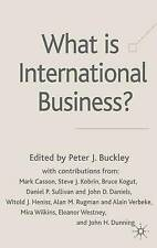 What is International Business?, , Very Good condition, Book