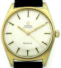 Omega Geneve vergoldete Vintage Automatic Herrenuhr Kal. 552 Ref. 185.041