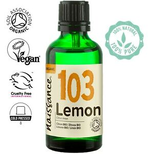 Naissance Lemon Certified Organic Essential Oil Use in Aromatherapy