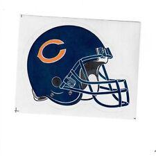 Chicago Bears NFL Decal Sticker Helmet with Team Logo Licensed