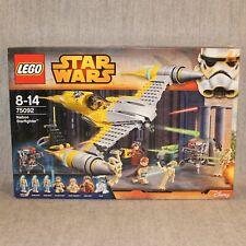 LEGO STAR WARS 75092 Naboo Starfighter Disney Retired Set Sealed New MIB Rare