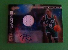 Rajon Rondo 2010 Absolute Memorabilia Star Gazing Auto/Jersey #/10 Celtics
