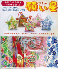Japanese Lucky Star Washi Origami Folding Papers 5 Design Sheets w/ 5 Strings