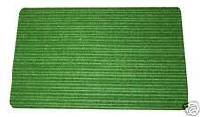 BNew Door Mat Polypropylene Doormat  80cm x 50cm Green