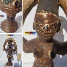 Yoruba Orisha Shango Ṣàngó Changó Xangô Figure Sculpture Statue Fine African Art