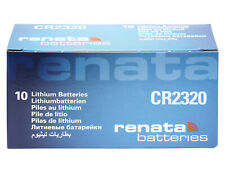 10 x Renata CR2320 3V Pila Batteria Cell Coin replace CR BR DL ECR KCR ML 2320