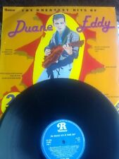 THE GREATEST HITS OF DUANE EDDY LP 1979 20 TRACKS.