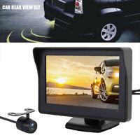Car Parking Camera Kit Rear View Reversing HD Monitor Night Vision Van Bus Truck