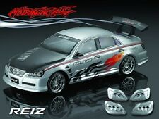 1/10 Toyota Reiz 190mm RC Car Transparent Body Strong Polycarbonate 201031