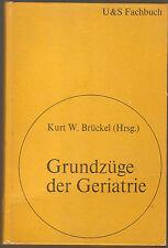 Lehrbuch der Medizin Grundzüge der Geriatrie Schwarzenberg Verlag Ausgabe 1975