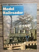 Vintage Magazine Model Railroader May 1968 Green Engine Farmer