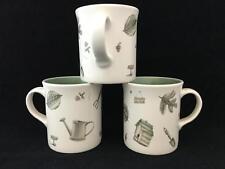 Set of 3 Pfaltzgraff NATUREWOOD Bird House Coffee Mugs / Tea Cups - FREE SHIP!
