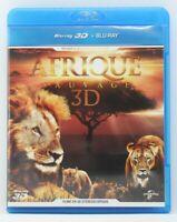 """Blu ray 3D  """" Afrique Sauvage """" Filmé en 3D Stéréoscopique"""