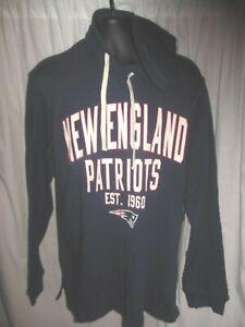 New England Patriots NFL Men's G-III Hooded Pullover Long Sleeve Shirt