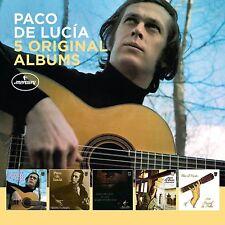 PACO DE LUCIA - 5 ORIGINAL ALBUMS  5 CD NEW+
