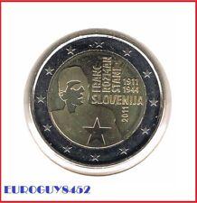 SLOVENIE  - 2 € COM. 2011 UNC - FRANC ROZMAN - STANE