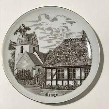 Piatto porcellana Bing&Grondhal B&G Royal Copenhagen Ringe