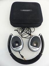 Bose on Ear Kopfhörer Headphones Schwarz Grau in Tasche gebraucht