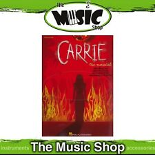 New 'Carrie' the Musical Vocal & Piano Selections Music Book