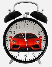 "Super Car Alarm Desk Clock 3.75"" Home or Office Decor Y83 Nice For Gift"