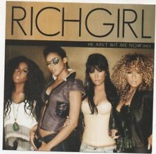 RichGirl 24's Feat. BUN B of UGK & He Ain't Wit Me Now Lot of 2 Promo CD's