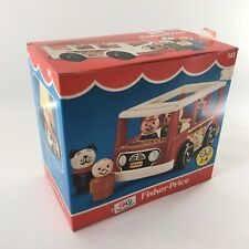 Vintage 1981 Fisher Price 141 Little People Play Bus BOX ONLY Empty