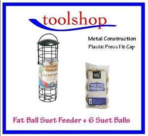 FAT BALL FEEDER plus SUET FAT BALLS 6 PACK Combo