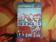 DISNEY SING IT HIGH SCHOOL MUSICAL 3 FIN DE CURSO PS2 PLAY STATION 2