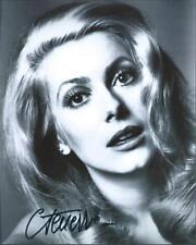 Catherine Deneuve Sexy Gorgeous Signed Authentic Autographed 8x10 COA