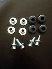 gas oil tank rubber mounts kit fat bob chopper bobber harley custom fuel bolts