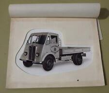 More details for vintage guy motors advertising art~wolverhampton lorry/truck design~durban corp.