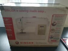 Singer Brilliance Sewing Machine 6180 LCD Display 180 Stitches Computerised