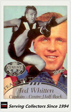 1996 Select AFL Hall Of Fame Team Of The Century PLATINUM TC6 Ted Whitten(Foots)