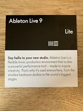 ABLETON LIVE 9 LITE DAW Software & Discount on full version of Standard & Suite