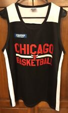 Chicago Bulls NBA Basketball Jersey SGA Practice Style Black White Men Large L