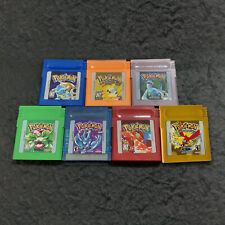 Pokemon Version Video Game Game Boy Color Cartridge GBC -US (Fast Shipping)