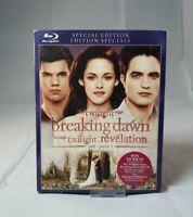 The Twilight Saga: Breaking Dawn - Part 1 (Blu-ray Disc, 2012, Canadian)