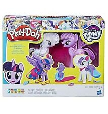 NEW Play-Doh My Little Pony Princess Twilight Sparkle and Rarity Fashion Fun