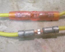 200 Pcs - Mil-Spec 22-18 AWG Nylon Red Butt Splices - Molex 19199-0007  Quality