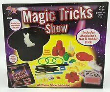 Magic Tricks Show Set Magician Kids Children Child Including Plastic Hat Rabbit