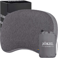 JÖKEL Inflatable Pillow, Travel Camping Pillow with Head, Neck & Back Support, &