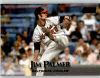 2019 Topps Stadium Club JIM PALMER Black Foil Parallel #61 Orioles