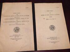 Gun Firing Tables, 1924, 1933, ordnance, military weapons, interwar period