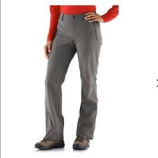 NEW! REI Endeavor Pants Hiking Outdoor Nylon Blend Dark Gray ~ Women's Size 8