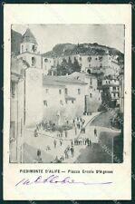 Caserta Piedimonte Matese d'Alife cartolina XB3778