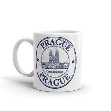 Prague République Tchèque haute qualité 10 oz (environ 283.49 g) Café Thé Tasse #4796