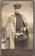 CDV photo Soldat - Diedenhofen 1910er