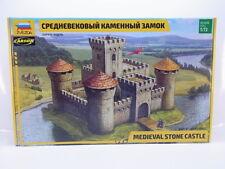49773 | Zvezda 8512 Medieval Stone Castle 1:72 Bausatz NEU in OVP