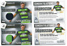 Topps Premier Club 2016 2 x Swansea Gylfi Sigurdsson Player Worn Shirts Cards
